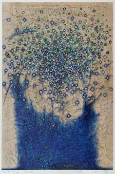 pen drawing on gampi paper 林孝彦 HAYASHI Takahiko 2014 Abstract Flowers, Abstract Art, Minimalist Art, Watercolor And Ink, Pattern Art, Graphic Illustration, Painting & Drawing, Sculpture Art, Fiber Art
