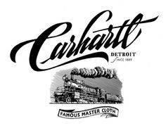 Carhartt SS 2011 - Carhartt Heritage  Great #lettering #script #signpainting