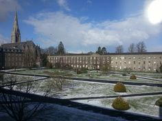 Imagine our surprise to find it snowing on March 11, 2013, when it was spring last week at National University of Ireland Maynooth!   Join us on facebook to see more of our campus and to connect with our staff and students: www.facebook.com/international.NUIM Modern Buildings, Dublin, Connect, Ireland, Places To Go, Wanderlust, University, Students, Join
