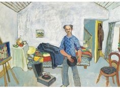 Gerard Dillon was an Irish artist. Born in Belfast, he left school at the age of fourteen and for seven years worked as a painter and decorator, mostly in London. From an early age he was interested in art, cinema, and theatre. Born: 1916 Died: June 14, 1971