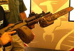 Chainsaw Rifle