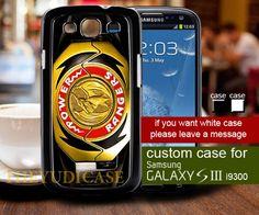 Pink Ranger Power Morpher MMPR gold - Samsung galaxy S3 Case   TheYudiCase - Accessories on ArtFire