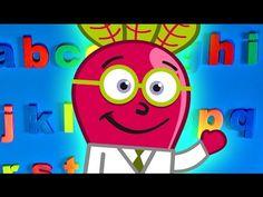 Aprende el #Abecedario en #minúsculas, en un #abc de imán para #niños con el Doctor Beet en este vídeo educativo #infantil en #español. #recursos #letras #preescolar #alphabet #aula
