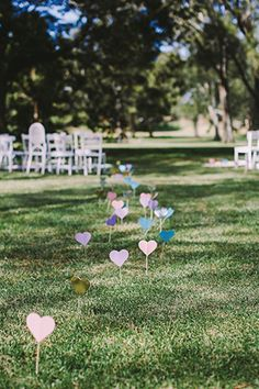 Hearts on the aisle | see the full wedding on www.onefabday.com