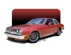 Pontiac Sunbird Rendering #pontiac #sunbird #windscreen http://www.windblox.com