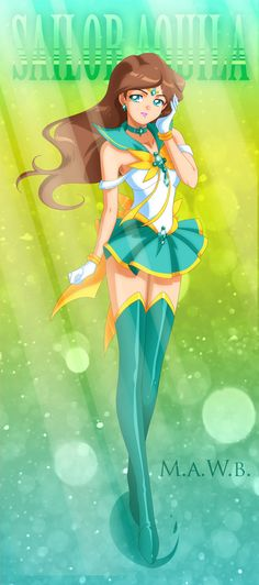 Sailor Aquila by Cheddar99043.deviantart.com on @deviantART