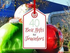 Best gifts for travelers.  #gifts #travelers