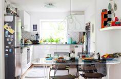美しく整ったキッチンが創造力をかきたてます