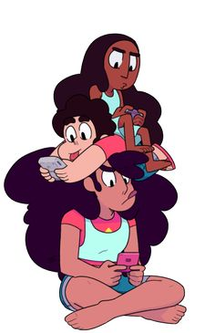 I bet Connie's the type of person who moves the controller like they're driving when they play mariokart