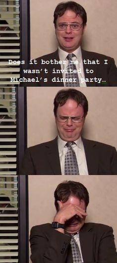 haha...Dwight K. Schrute :)