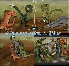 Haha Raptor selfie!