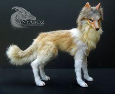 Nicodemus the Wolf Room Guardian by AnyaBoz.deviantart.com on @DeviantArt