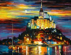 Leonid Afremov Paintings | World's National Museums and Art