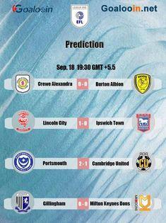 #England #EnglandLeague1 #EFL #football #soccer #soccergame #footballtips #footballgame #sport #prediction #livescore #LincolnCity #Portsmouth #Gillingham #BurtonAlbion