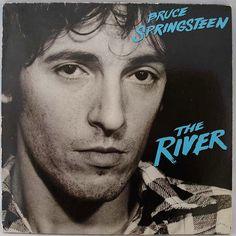 Bruce Springsteen The River vinyl record by VintageVinylRocks on Etsy.