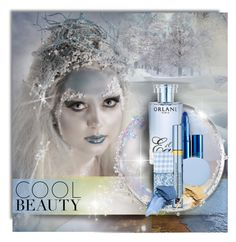 """""""COOL BEAUTY"""" by kiki-parker ❤ liked on Polyvore featuring beauty, Orlane, Lipstick Queen, Deborah Lippmann, Estée Lauder, Bare Escentuals, Winter, snow, cold and winterbeauty"""