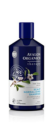 Avalon Organics Tea Tree Mint Scalp Normalizing Shampoo 14 Fluid Ounce -- Continue to the product at the image link.(This is an Amazon affiliate link and I receive a commission for the sales)