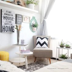 41 Super Ideas For Small Office Furniture Ideas Sofas Home Office Decor, Farmhouse Living Room Furniture, Farm House Living Room, Room Design, Small Space Interior Design, Minimalist Living Room, Home Decor, House Interior, Minimalist Living Room Design