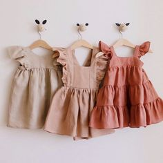 Baby Girl Dress Patterns, Baby Clothes Patterns, Baby Kids Clothes, Little Girl Dresses, Girls Dresses, Vintage Kids Clothes, Little Girls, Summer Dresses, Toddler Outfits