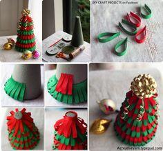 Diy Projects: DIY Ribbon Christmas Tree