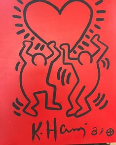 Feel the love with this beautiful for auction at our upcoming see link in bio for upcoming auction Keith Haring, Buffalo, Auction, Neon Signs, Love, Feelings, Painting, Beautiful, Instagram