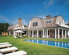 Back Of Knock Your Socks Off Shingle Home Just As Gorgeous From Love The Pool No Deck Gr Goes Right Up To S Edge Might Do With A