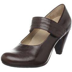 Portlandia Women's Vesta Mary Jane Heel ❤ liked on Polyvore