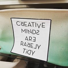 This may or may not be true for me... Tidy-shmidy! I prefer organized chaos! Piles and piles for me! This basket was MADE for me! They're like silos for my creative endeavours!  Are you a cleaner or an organizer? ONLY PICK ONE!  #createyourowntracks #organized #cleanup #whatsyourstyle #creativeminds
