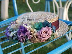 canotier de flores