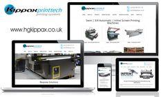 New Responsive Website for HG Kippax Group - Kippax Printtech