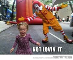 bad Ronald! ;)