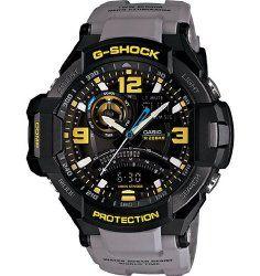 Casio G-Shock GA-1000-8A Aviation Series Men's Luxury Watch – Grey / One Size