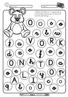 Résultats de recherche d'images pour « ejercicios vocales O Worksheets, Fails, Diagram, Activities, Education, School, Spanish, Writing, Alphabet
