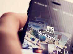 Smartphone com o aplicativo do Instagram...10 novas ferramentas de edição de imagens.