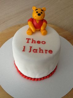 Winnie the Pooh voor Theo 1 Jaar