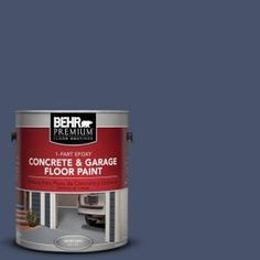 BEHR Premium, 1-Gal. #PFC-60 Deep Galaxy 1-Part Epoxy Concrete and Garage Floor Paint, 93001 at The Home Depot - Mobile