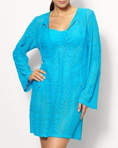 Raj crochet cover-up l #ColdwaterCreek