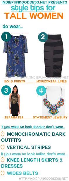 Fashion Style tips for Tall Women//IndiePunkGoddess.net