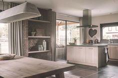 keuken modern werkblad beton