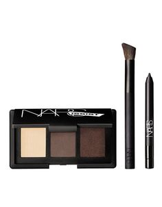 NEW! Fall 2014   NARSissist Smokey Eye(Contour) Kit   Lord and Taylor 59.00 I just purchased this and LOVE it. It's so luxe in every way and worth the price! :The shadows are the NARS Madrague(matte) (left) , Bali(matte), Mekong(shimmer), Wide Contour Eyeshadow Brush, Larger than Life Eyeliner mini in Via Veneto