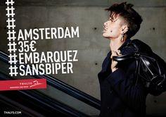 Thalys s'associe une nouvelle fois à Rosapark - Campagne de pub - l'ADN