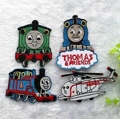 Thomas And Friends Embroidered iron on patch 034 by ChrisRibbon, $2.00