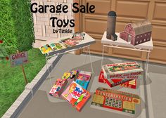 SIMS2: Garage Sale Toys - Downloads - BPS Community