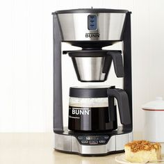 For more than just a single serving here is Good Housekeeping's Best of the Test: Primo Coffee Maker. Bunn Phase Brew 8-cup Coffee Brewer ($150, bunnathome.com) The winner heats water to the ideal temp before it touches the grounds, making for a flavorful cup of joe. More early-morning happiness: It's a breeze to set up.