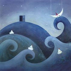 Una puerta bajo la almohada es un cuento de Eulàlia Canal ilustrado por Rebeca Luciani. La editorial Edelvives lo publica dirigido a primeros lectores.