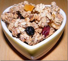 Ultimate Healthy Granola, by Camilla Saulsbury (link to her website), adapted by Katrina, Baking and Boys!
