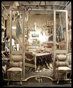 The space in Chicago after I fill it with my custom items...