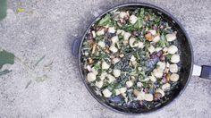 Gnocchi med kantarell og hasselnøtter