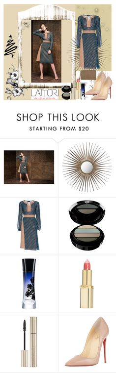 """Lattori # 28"" by zijadaahmetovic ❤ liked on Polyvore featuring Safavieh, Lattori, Giorgio Armani, GAB, L'Oréal Paris, Christian Louboutin, Express and lattori"