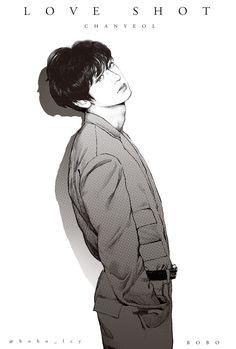 FanBook : Fan Art Social Platform Park Chanyeol Exo, Sehun, Baekhyun Fanart, Exo Kai, Kaisoo, Chanbaek, Exo Anime, Anime Art, Chibi